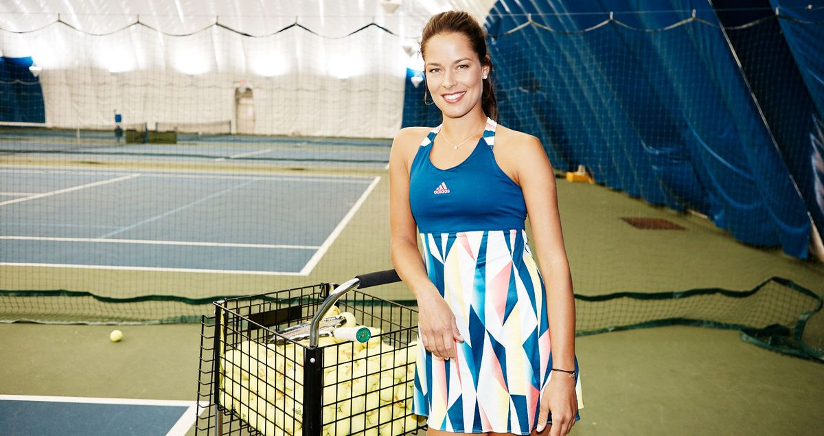 Tennis & Beauty Lessons With Ana Ivanovic