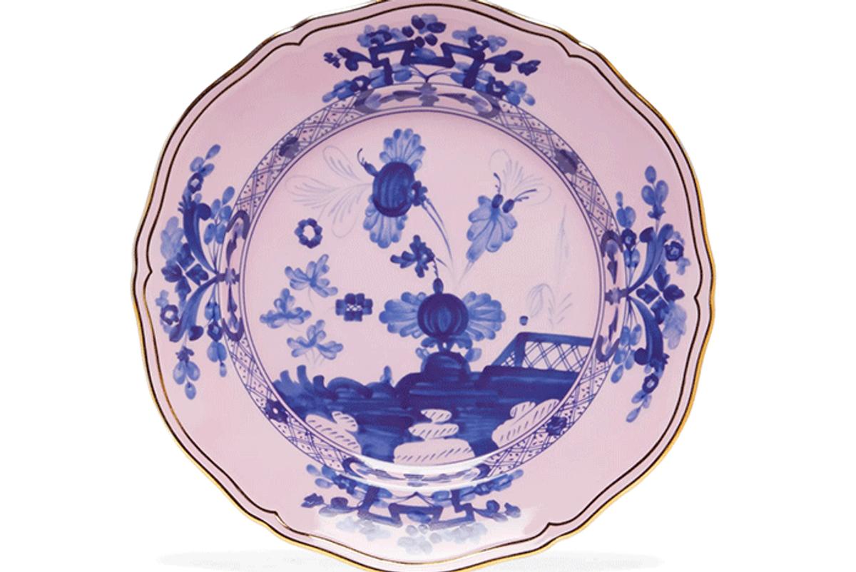 ginori 1735 oriente italiano ming porcelain dinner plate