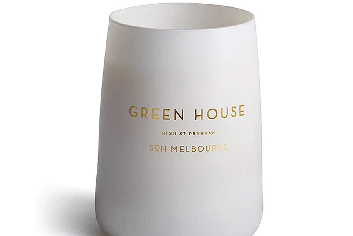 soh melbourne green house candle
