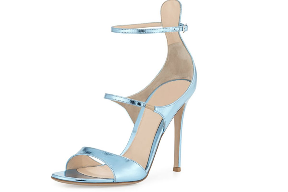 Juliet Strappy Metallic Sandal