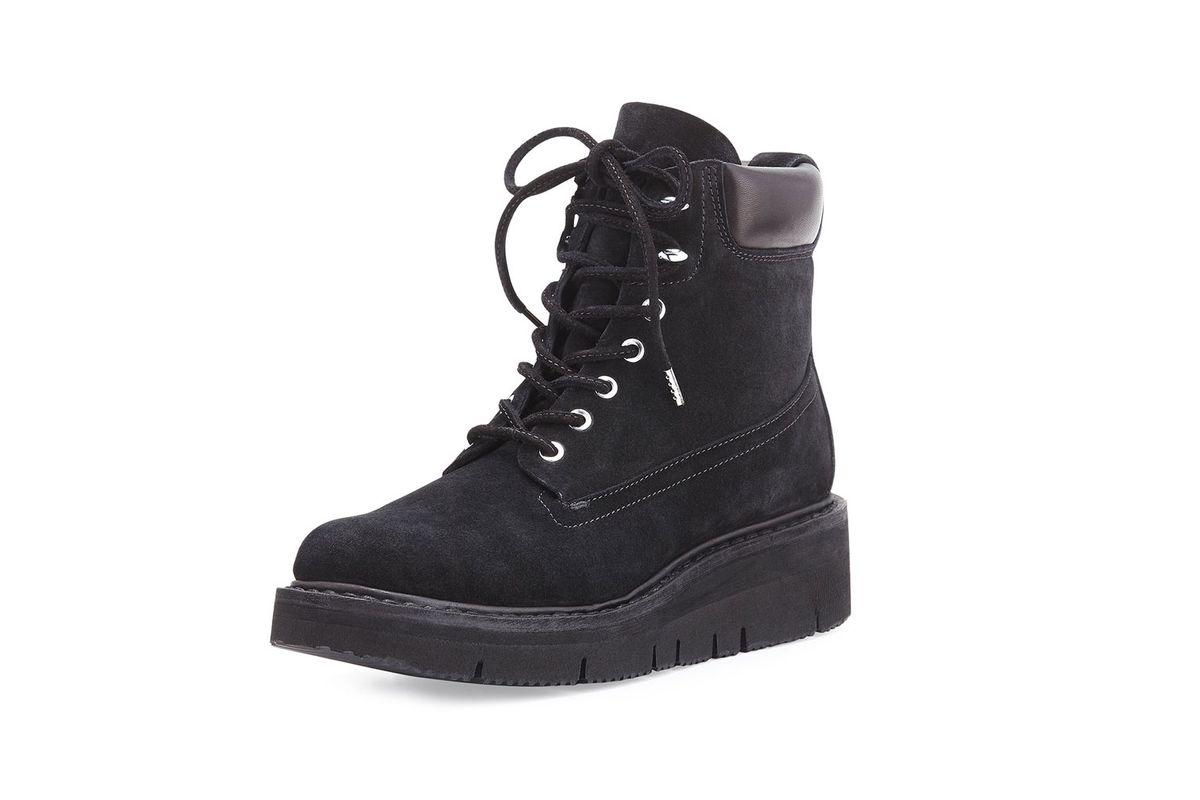 Camden Suede Combat Boot