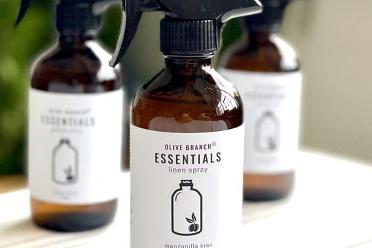 olive branch essentials linen spray