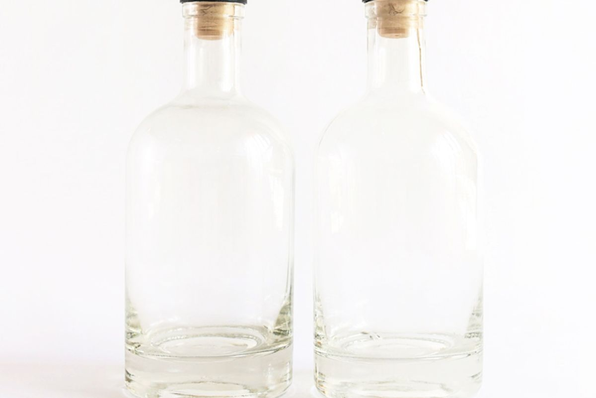 ethan and ashe 750ml spirits bottles
