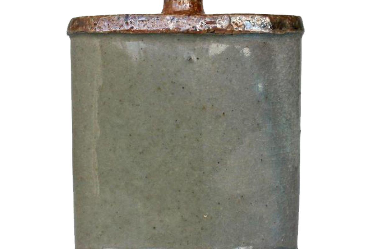 britney smith ceramics soda fired flask