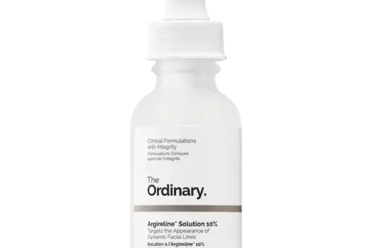 the ordinary argireline solution 10 percent