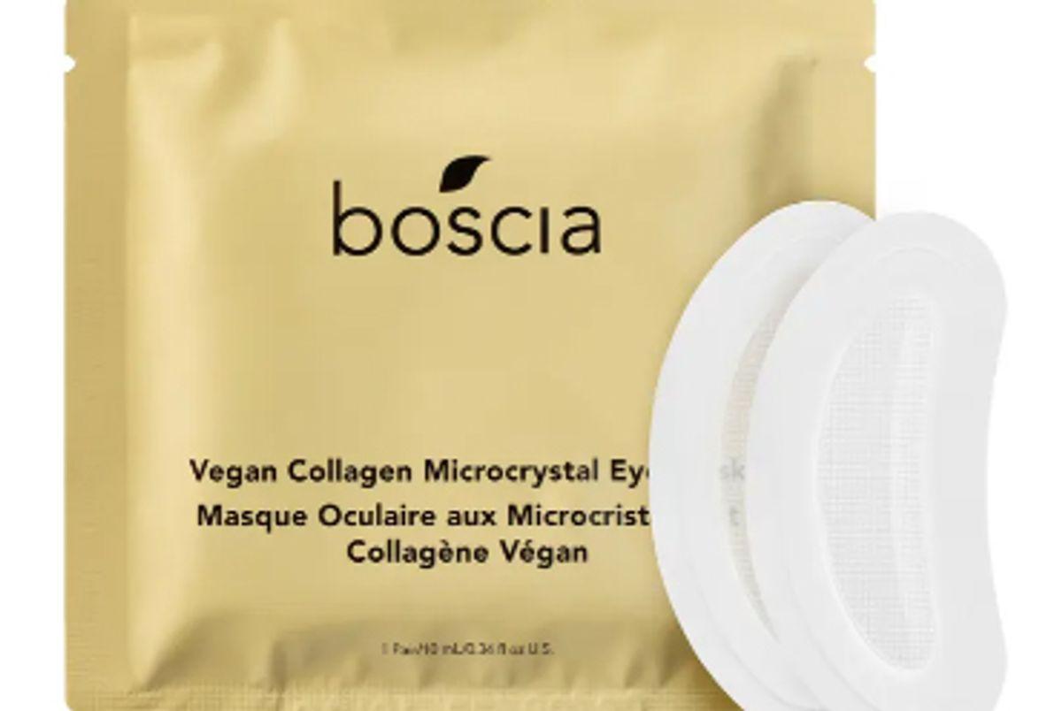 boscia vegan collagen microcrystal eye mask
