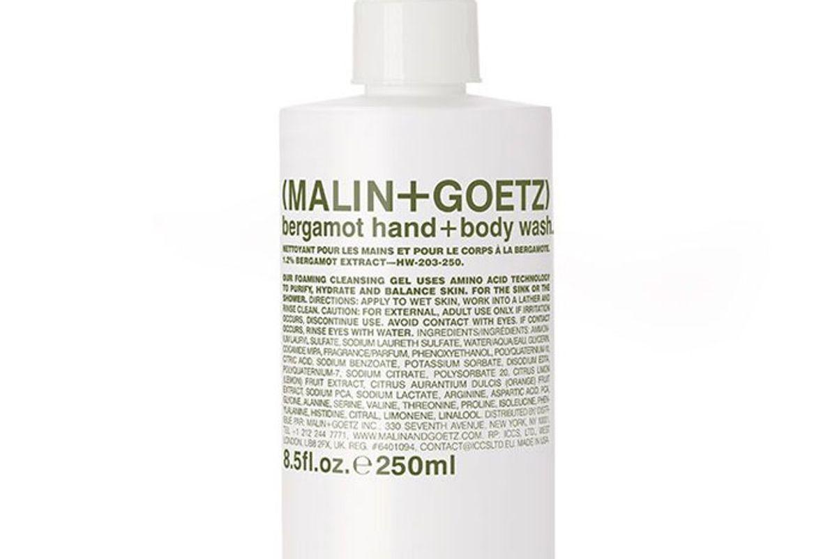 malin and goetz bergamot hand body wash