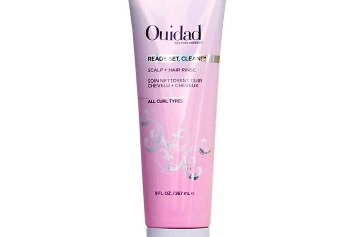 ouidad ready set clean scalp hair rinse