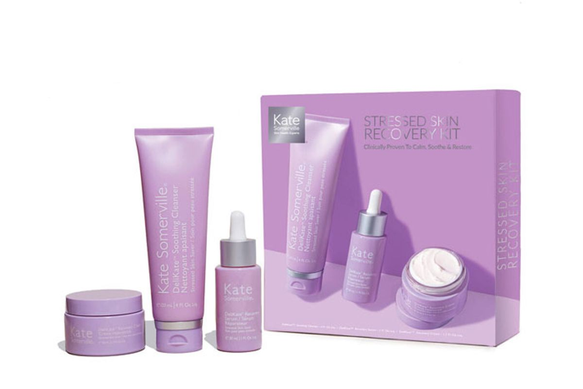 kate somerville stressed skin recovery kit