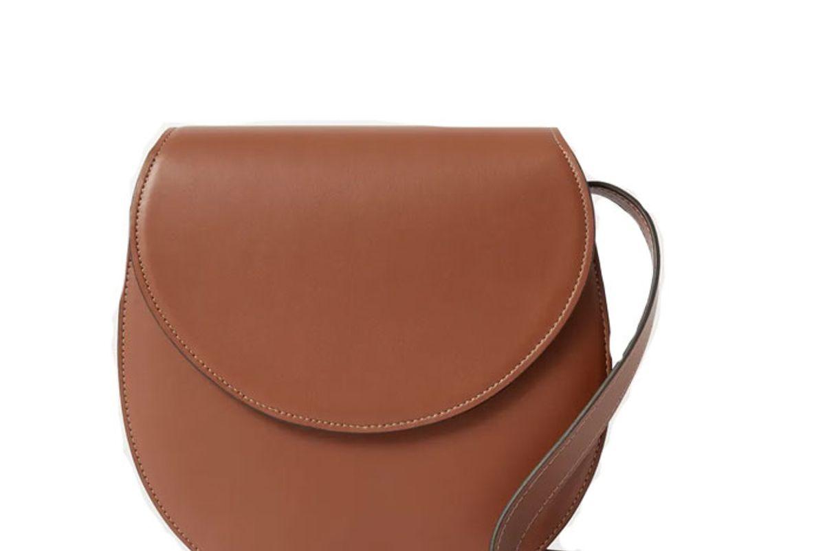 hunting season saddle large leather shoulder bag