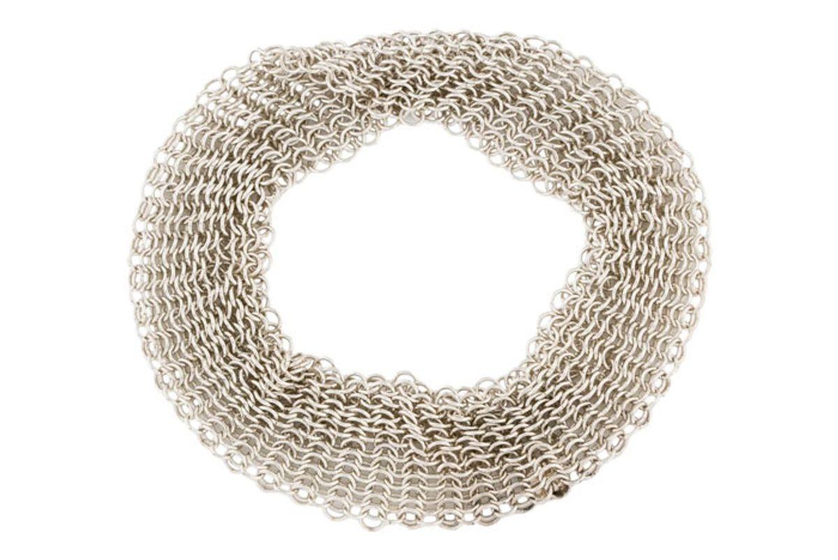 tiffany co mesh bracelet