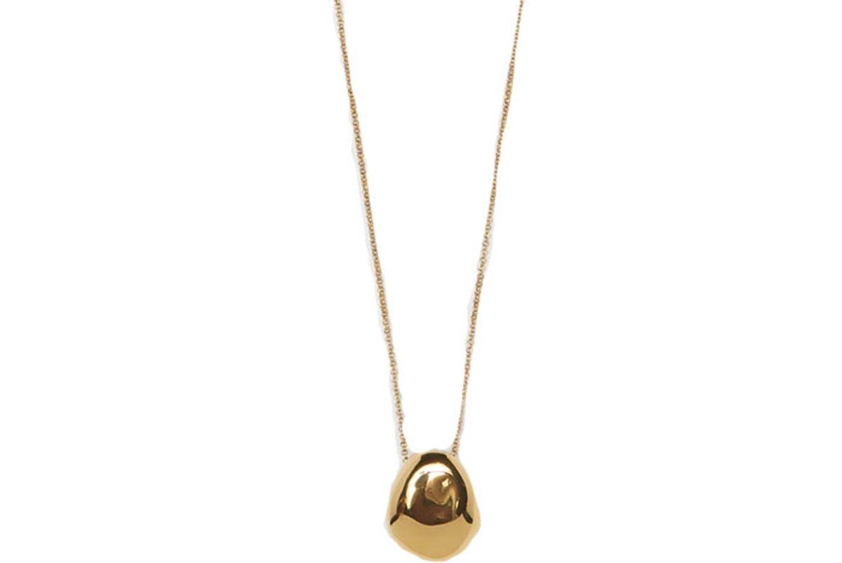 bagatiba gold orb necklace