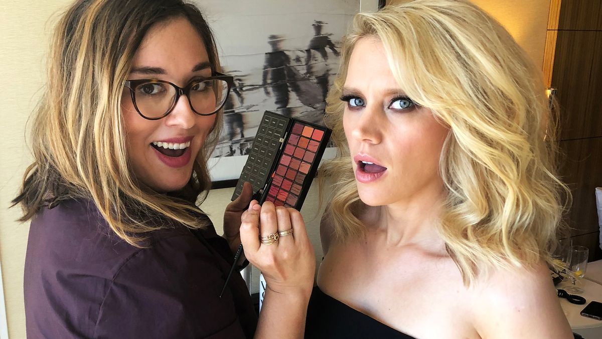 Exclusive: What Happens When Kate McKinnon & Aidy Bryant Get Ready for the Emmys
