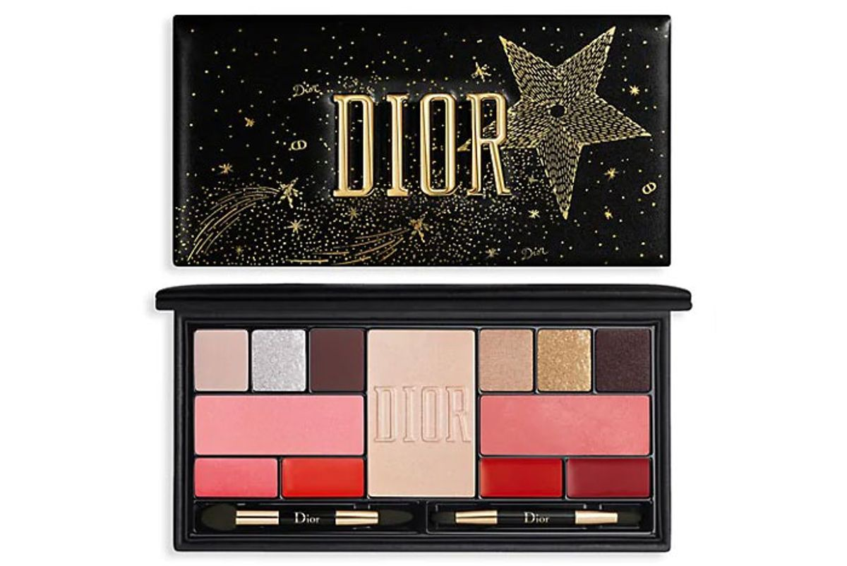 dior sparkling couture face lip and eye makeup palette