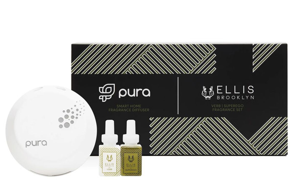 pura smart home fragrance diffuser kit featuring verb superego