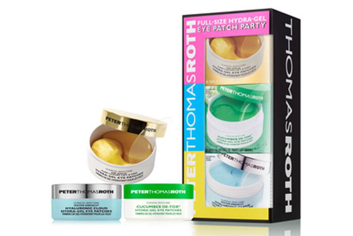 peter thomas roth hydra gel eye patch party kit