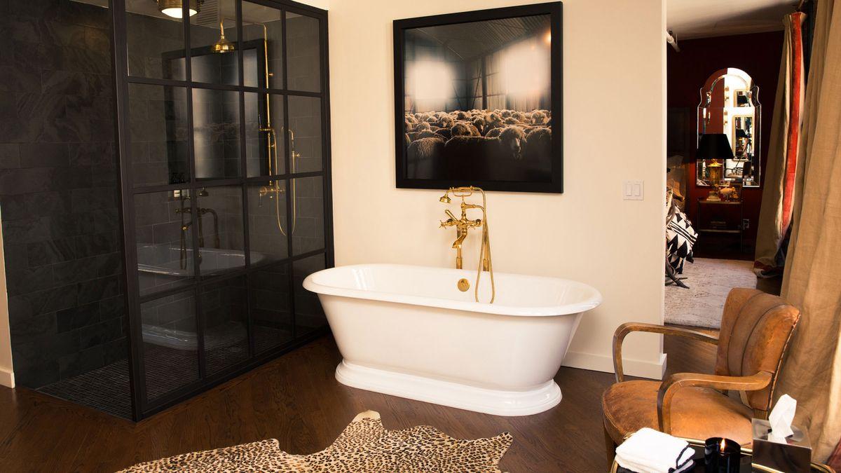 bathroom decor makeover with amazon