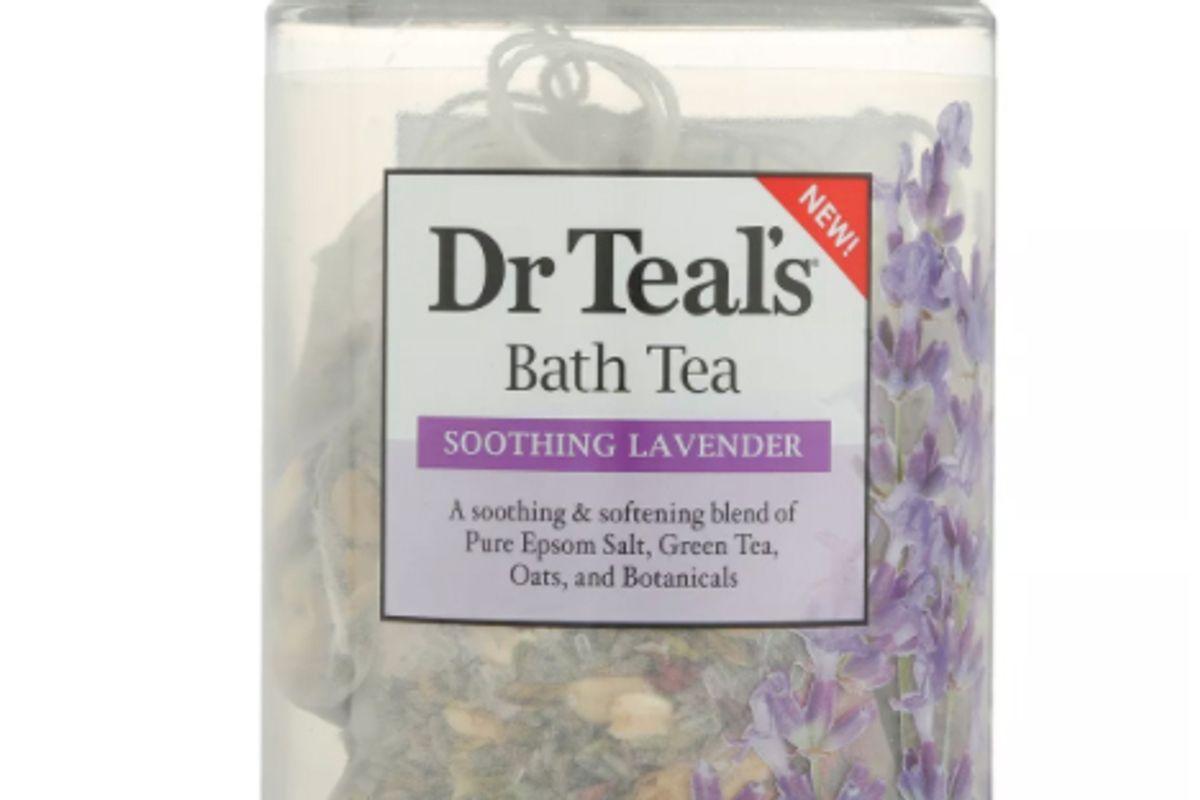 dr teals soothing lavender bath tea