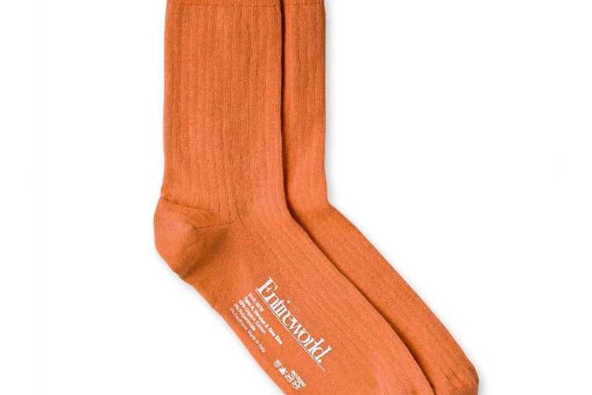 entireworld organic cotton solid socks
