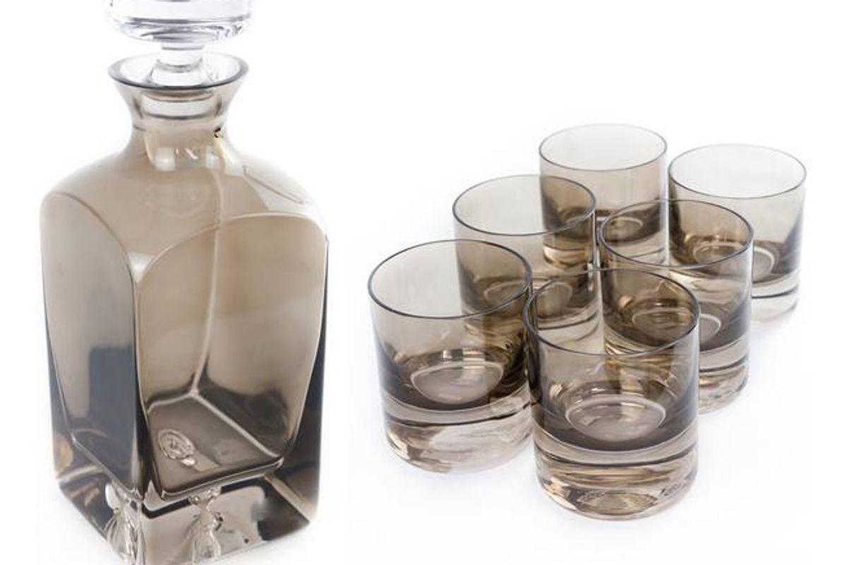 estelle decanter and glassware set