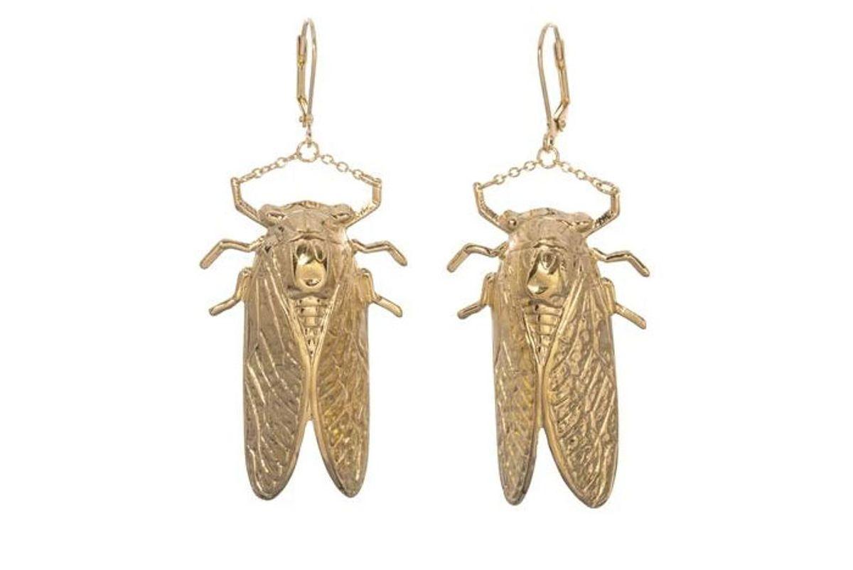 goldbug drop earrings