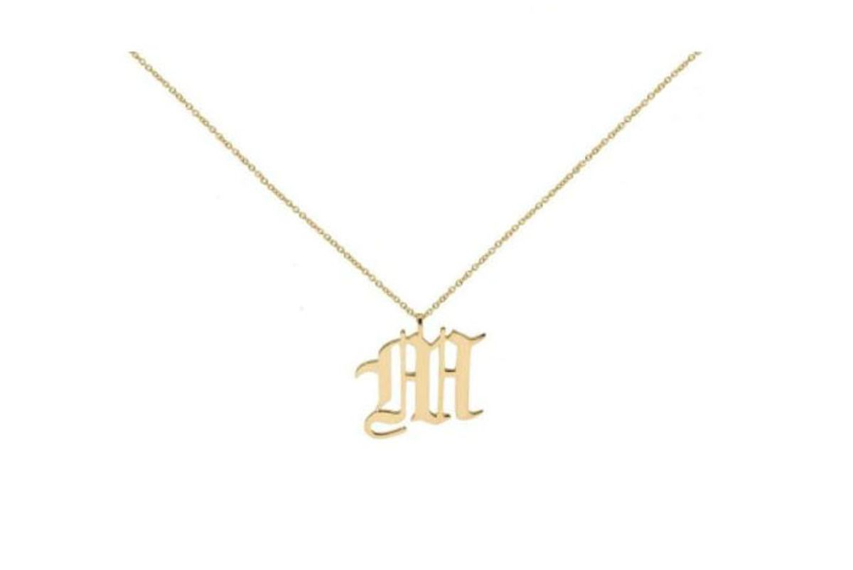 the m jewelers the old english pendant necklace