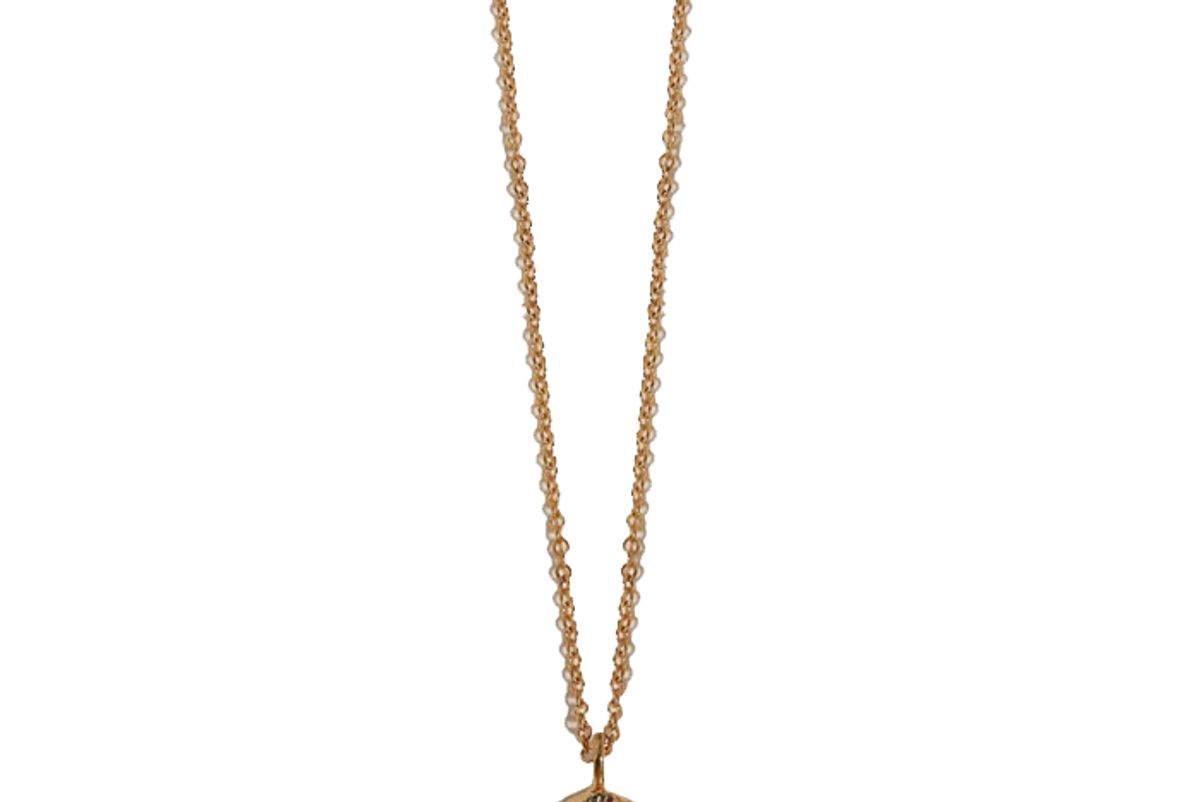 pamela love mini scarab pendant