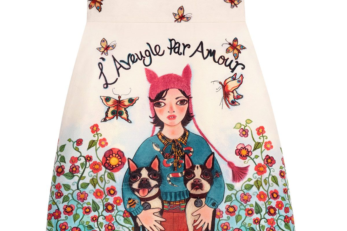 Unskilled Worker Mini Skirt