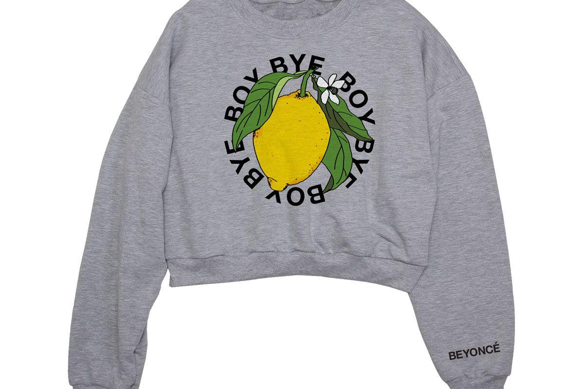 Boy Bye Cropped Sweatshirt
