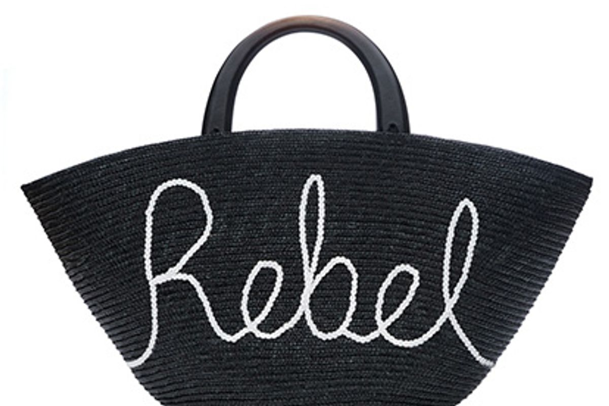 Carlotta Rebel Straw Bag