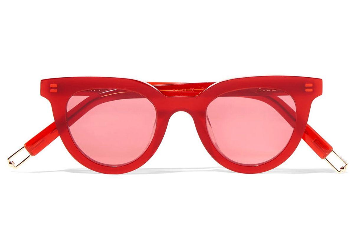 + Tilda Swinton Eye Eye D-frame Acetate Sunglasses