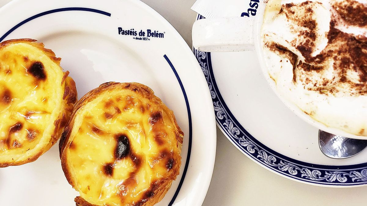 the best egg tarts in lisbon portugal