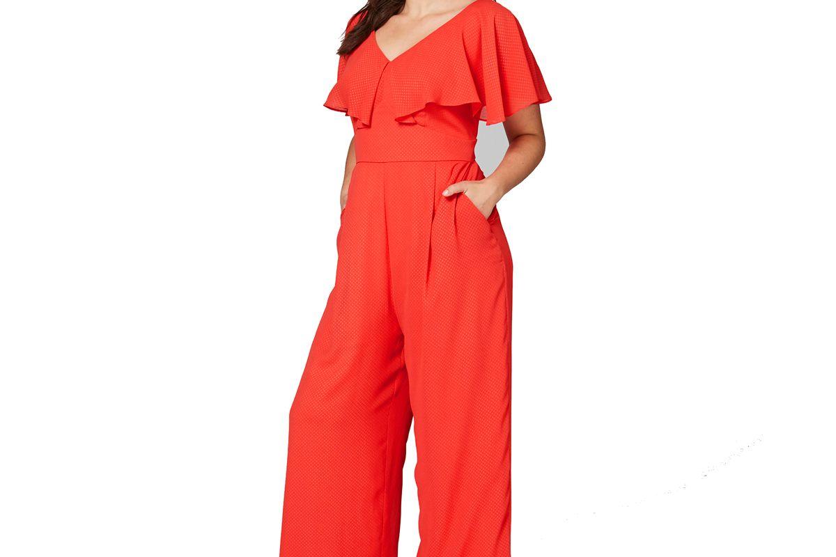 Lovedrobe Frilled Sleeve Jumpsuit