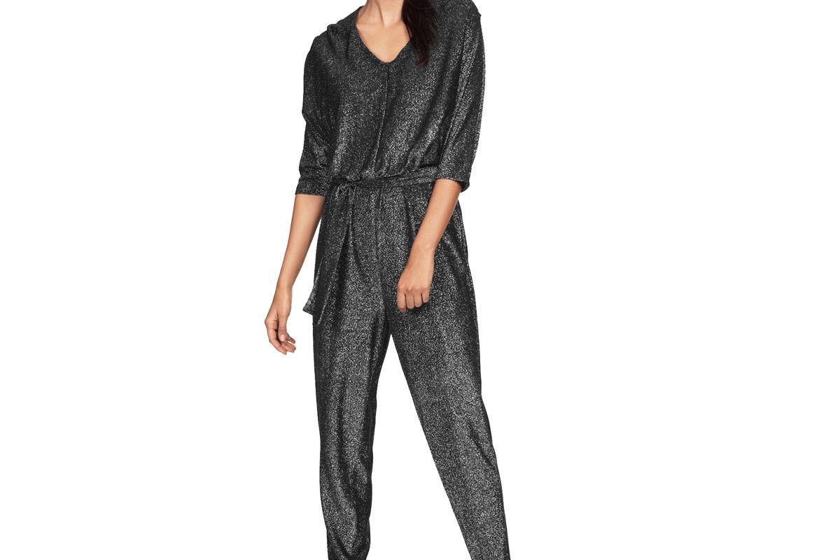 Glitter Knit Jumpsuit