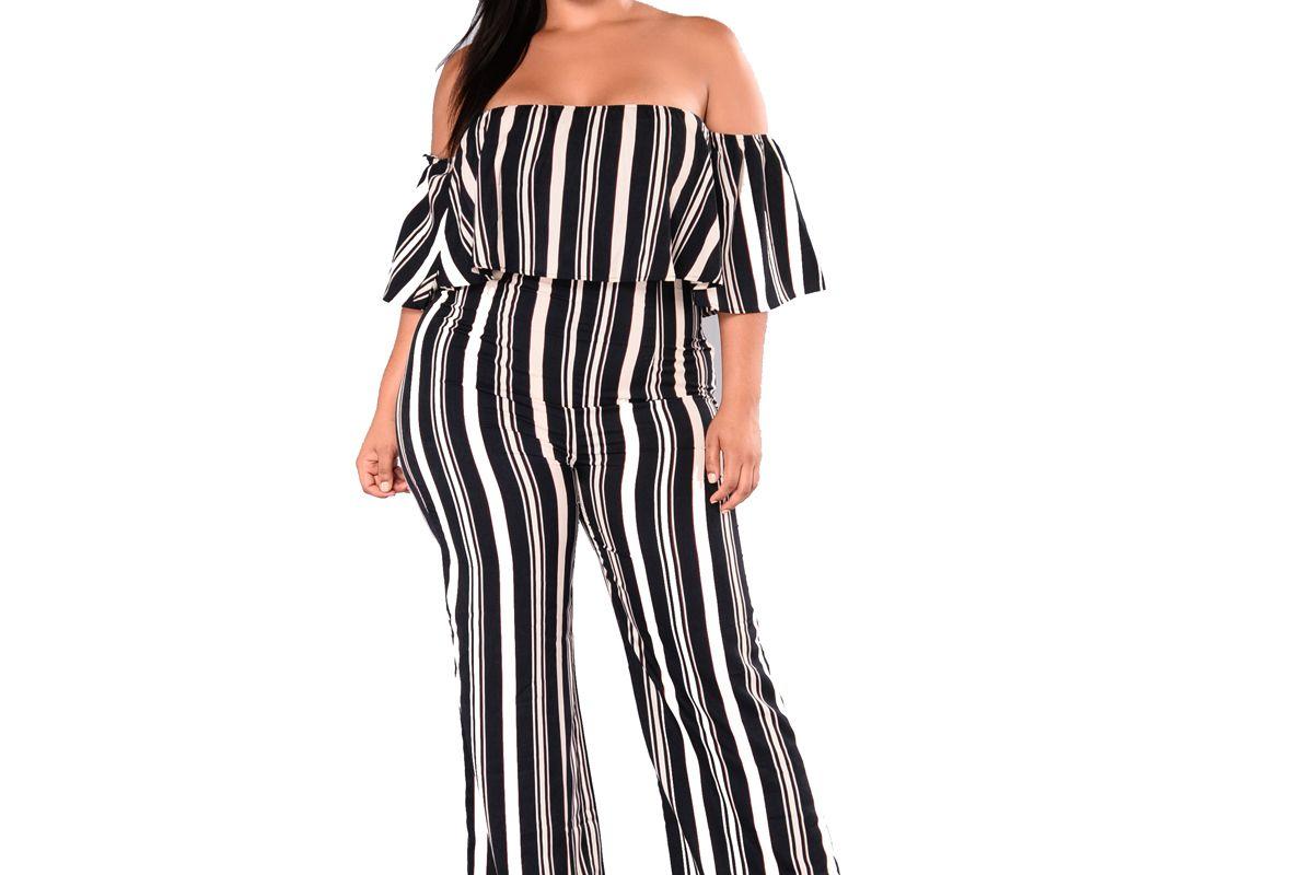 Josie Striped Jumpsuit