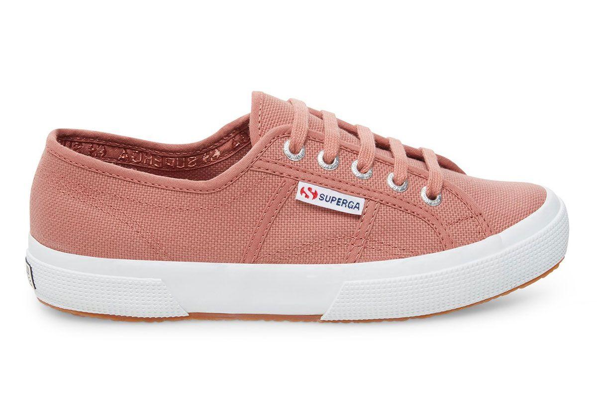 superga 2750 cotu classic brown pink leather