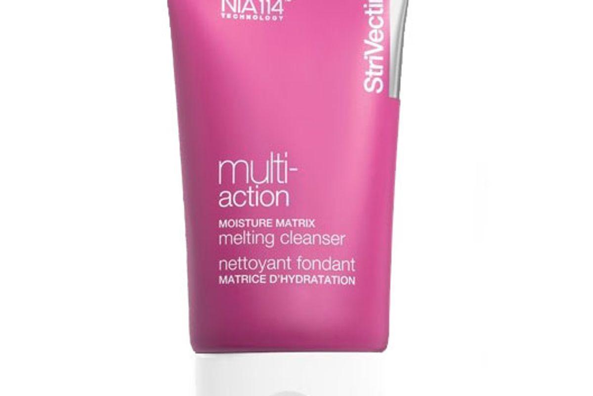 strivectin multi action moisture matrix melting cleanser
