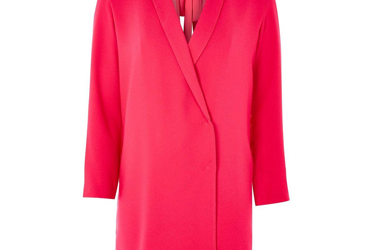 Bow Back Blazer Dress in Pink