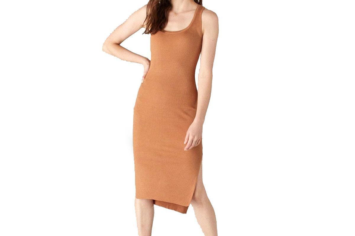 naadam tank dress with side slits