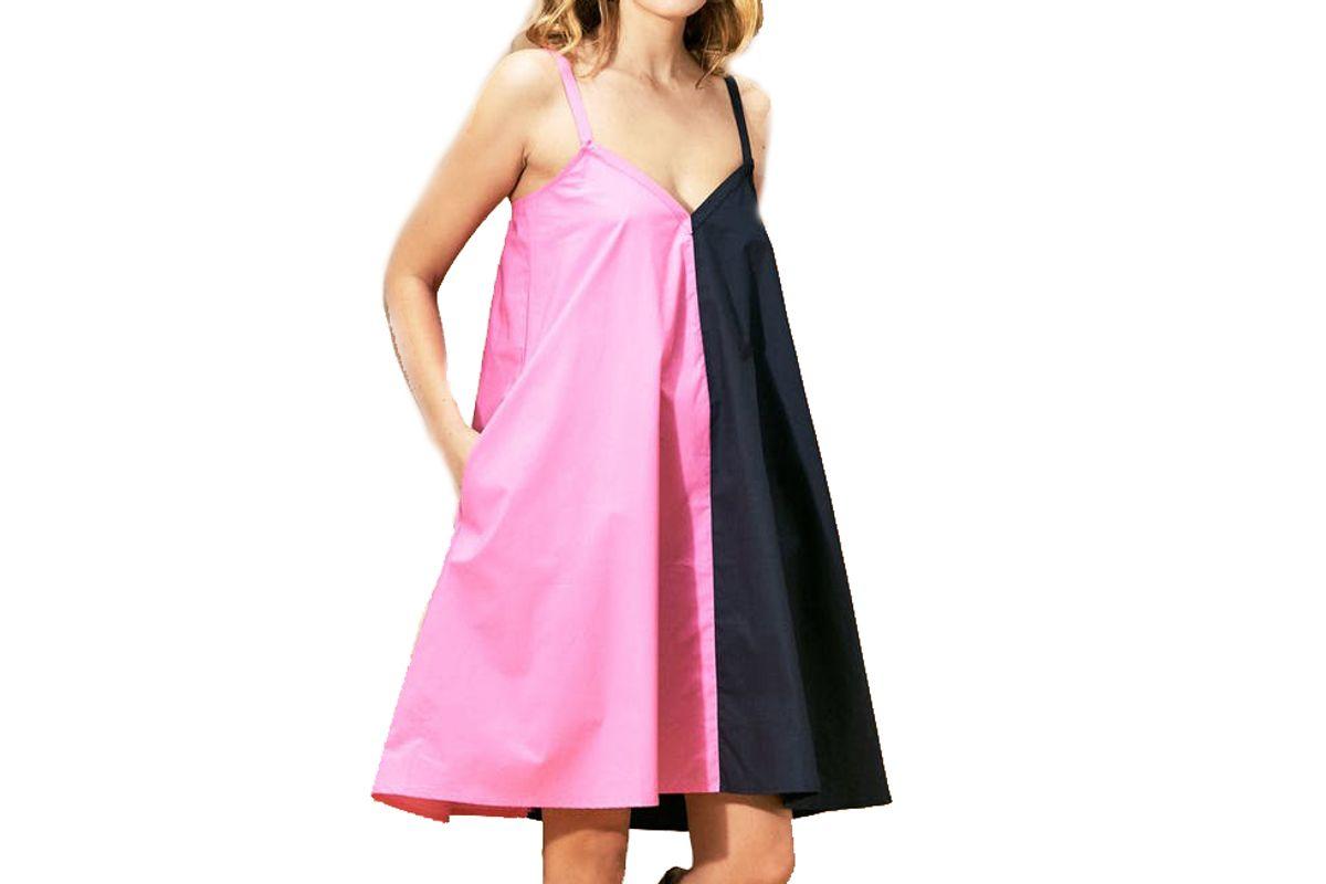 veda fiesta mini cotton dress