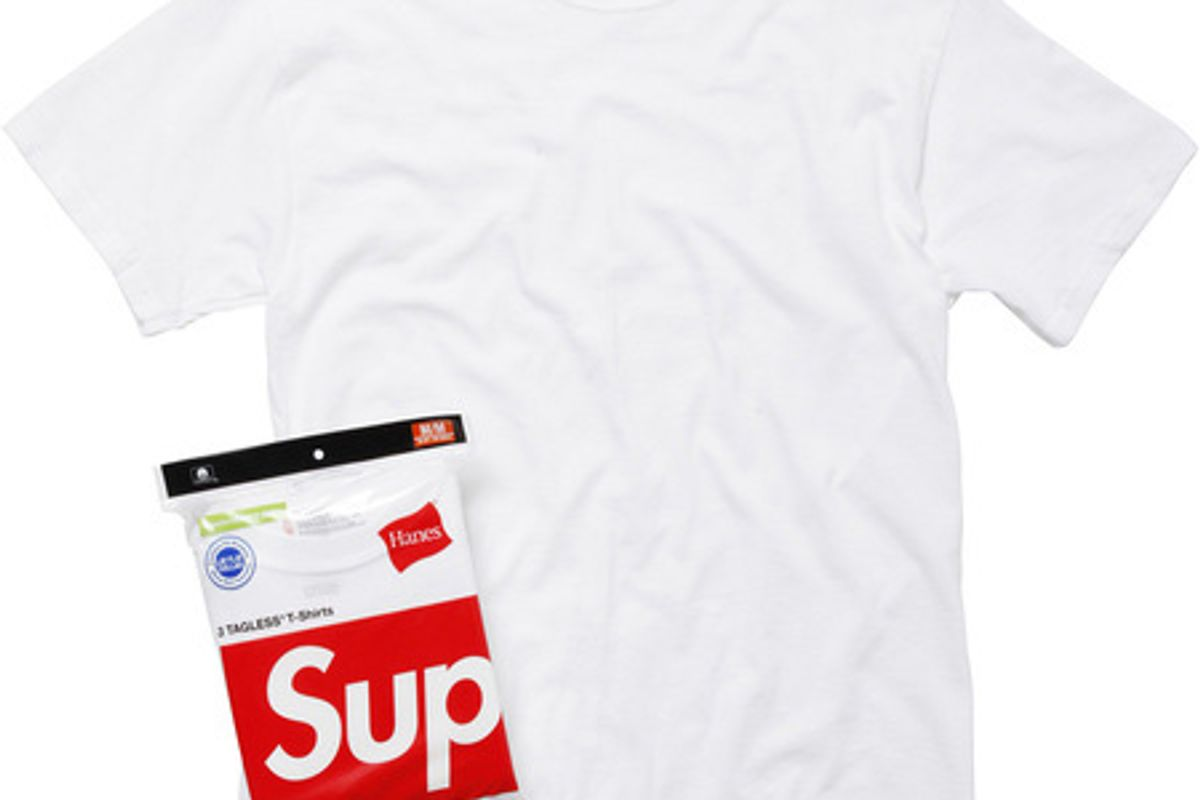 Hanes Tagless Tees (3 Pack) in White