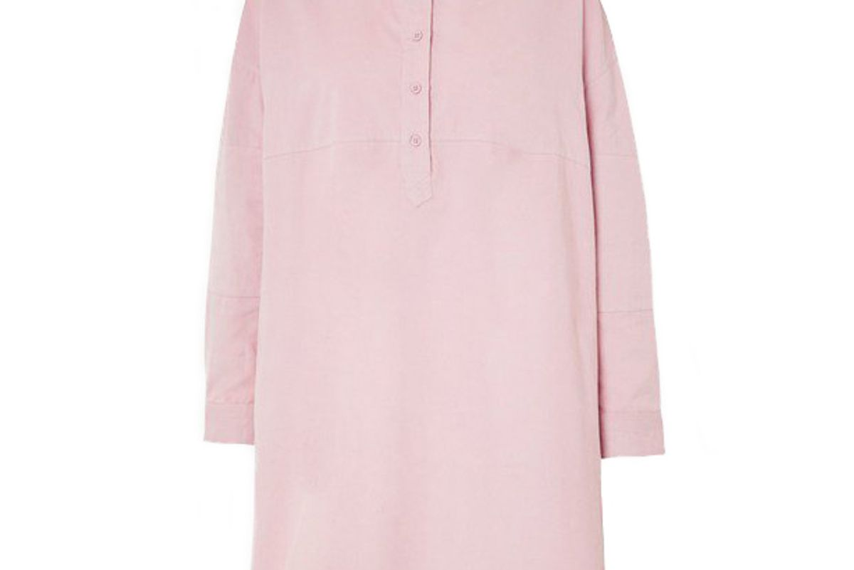 french connection caspia baby cord shirt dress
