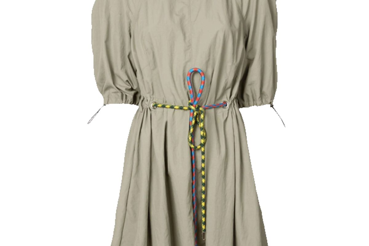 proenza schouler pswl parachute dress