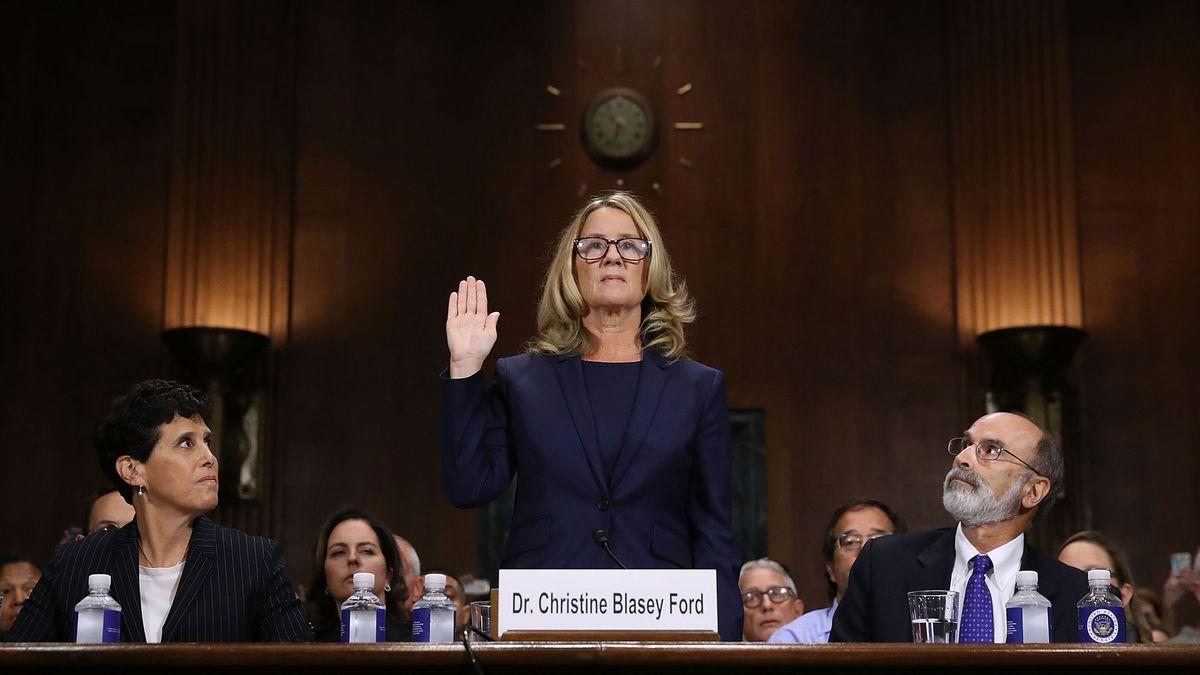 christine blasey ford brett kavanaugh senate hearing