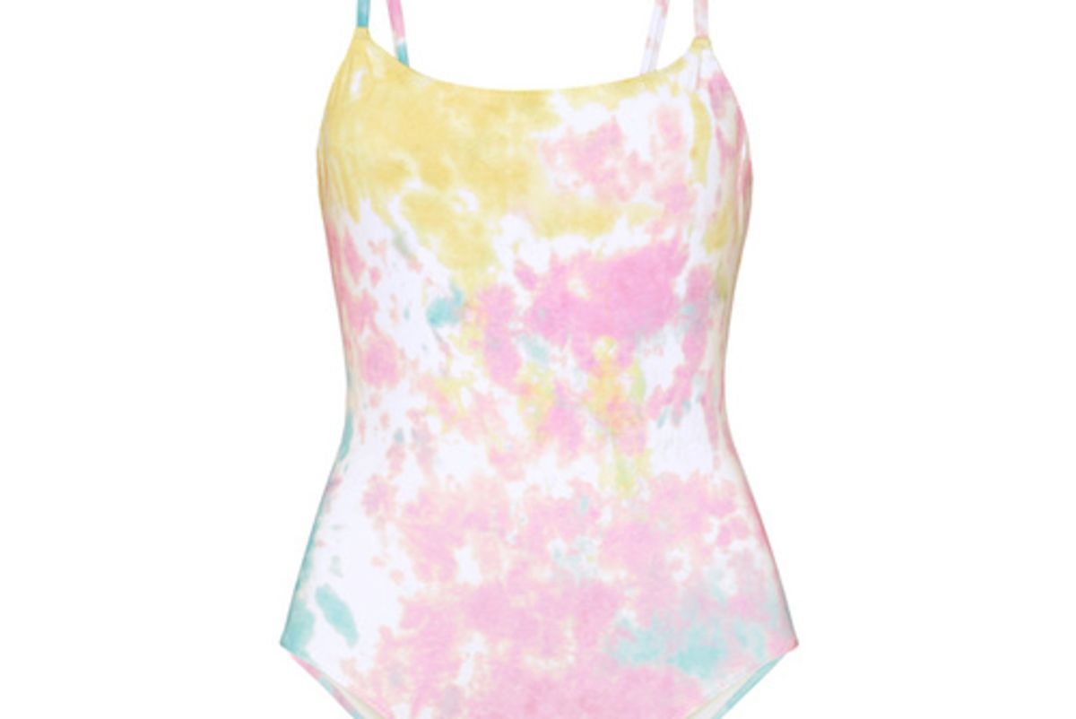 solid and striped the nina tie dyed swimsuit