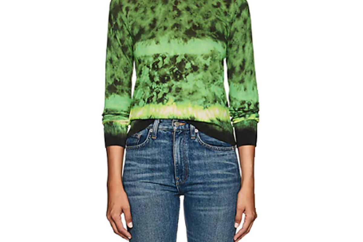 altuzarra tie dyed silk cotton sweater