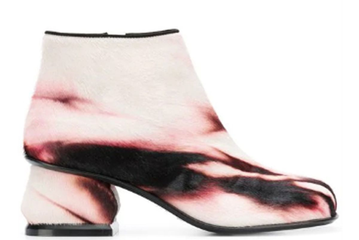 marni tie dye ankle boots
