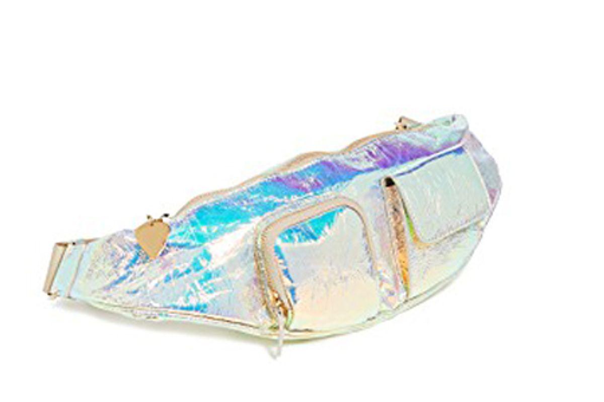 hologram belt bag avec troupe