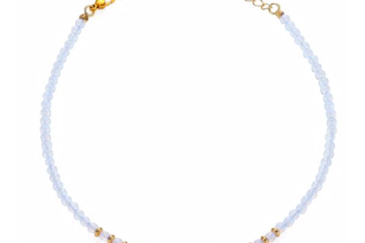 Beaded Gemstone Choker