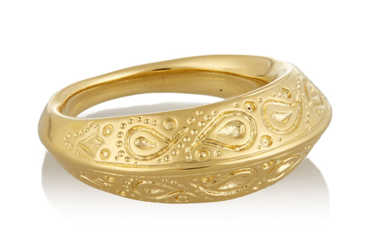 Apache Gold-Plated Ring